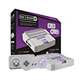 NES/SNES: CONSOLE - RETRON 2 - GREY - 2 WIRED CONTROLLERS (USED)